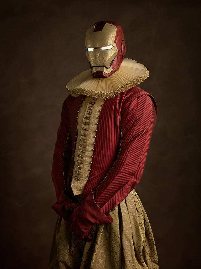 Железный человек в 16 веке