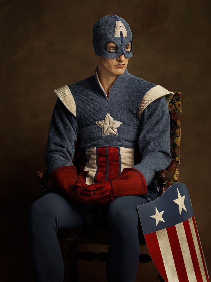 Капитан Амерка в 16 веке