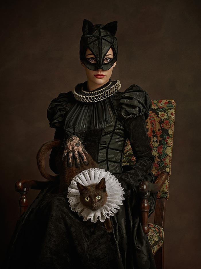 Женщина кошка в 16 веке