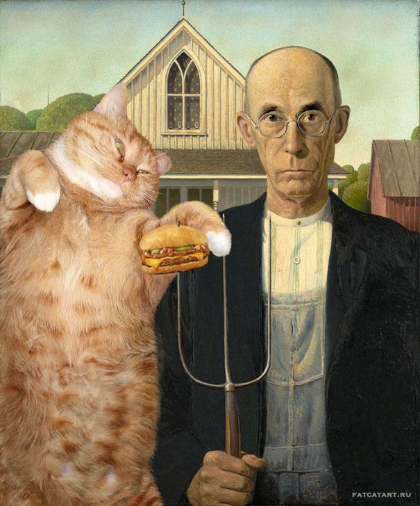 Заратустра толстый кот в искусстве